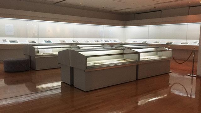 展示室(東海道広重美術館)