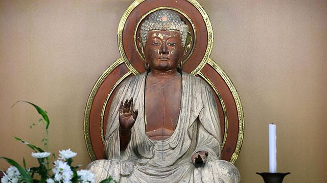 釈迦如来坐像(東慶寺)