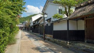 京都 鳥居本嵯峨野の奥に残る古い町並み