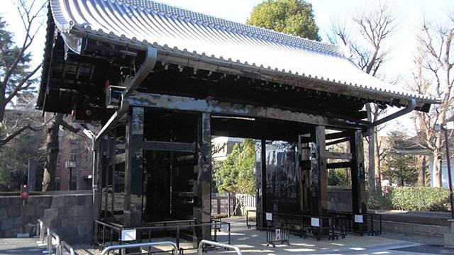 旧本坊表門(上野寛永寺)