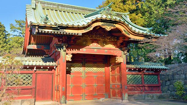 徳川歴代将軍御霊廟(上野寛永寺)