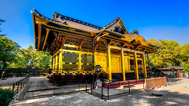 社殿(上野東照宮)