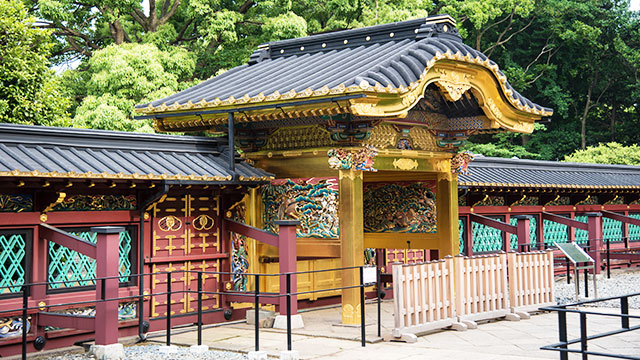 透塀(上野東照宮)
