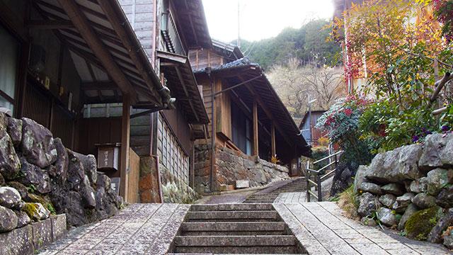 町並み(宇津ノ谷)