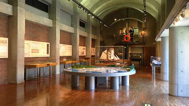 清水港・船に関する資料の展示(フェルケール博物館)