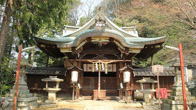本殿(粟田神社)