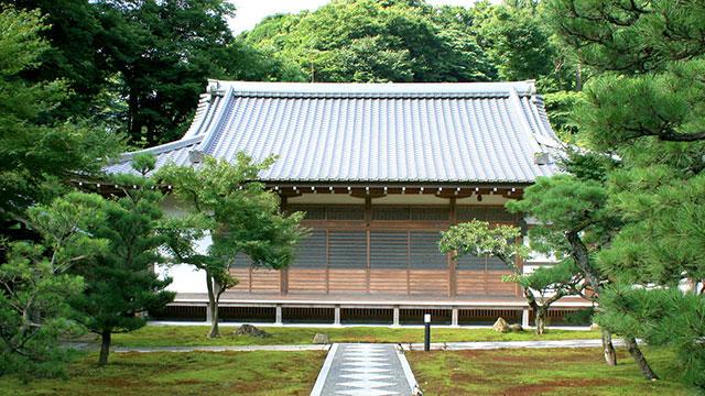 本堂(長寿寺)