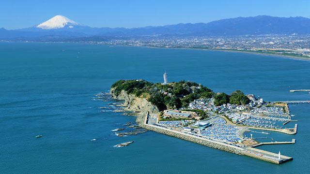航空写真(江の島)