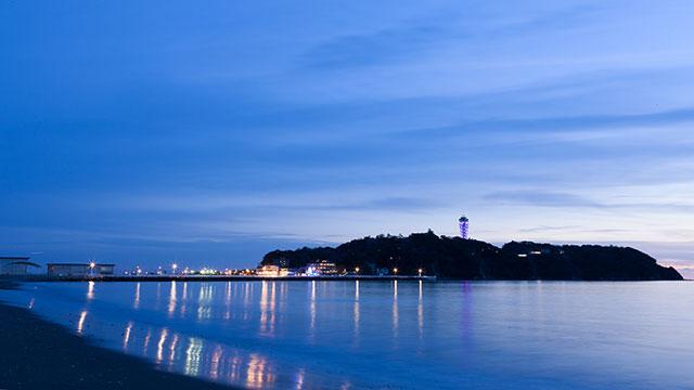夕暮れ(江の島)