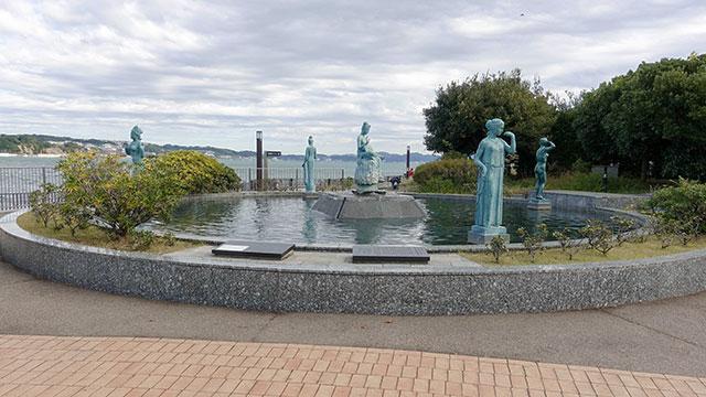 オリンピック記念噴水池(江の島)