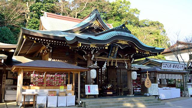 辺津宮(江島神社)