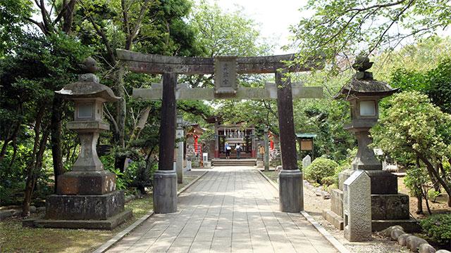 奥津宮参道(江島神社)