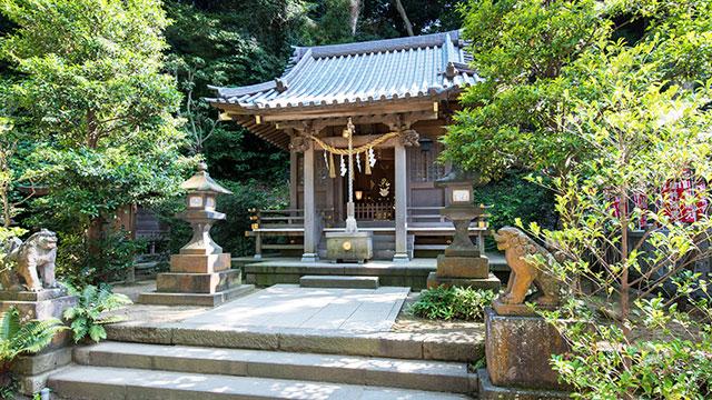 八坂神社(江島神社)