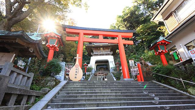江島神社(江ノ電観光)