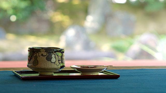 圓徳院で供される抹茶(圓徳院)