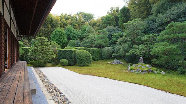 鶴亀の庭(芬陀院)