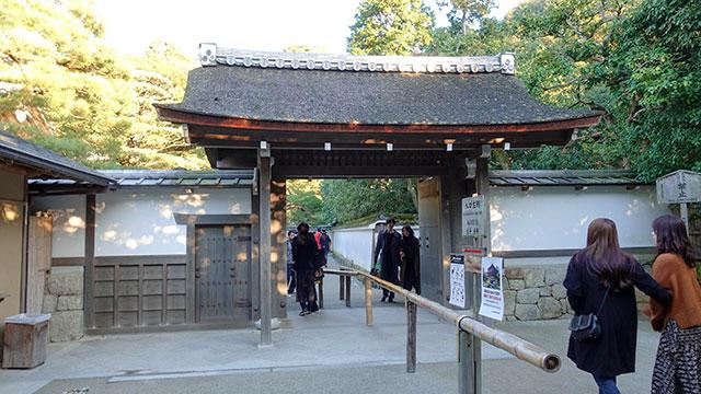 中門(銀閣寺)