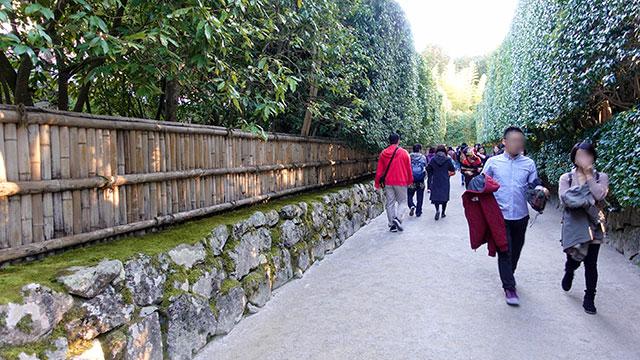 銀閣寺垣(銀閣寺)