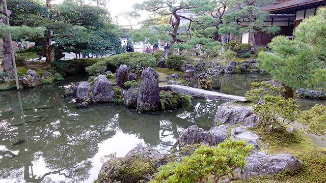 錦鏡池(銀閣寺)