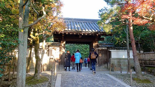 総門(銀閣寺)