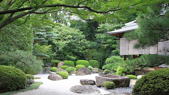 庭園(御香宮神社)