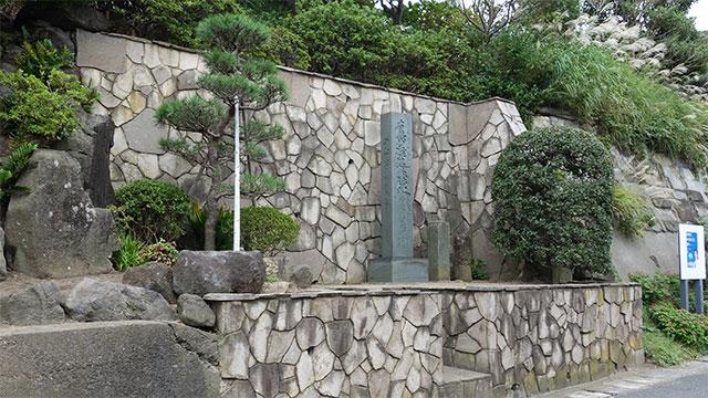 日蓮袈裟掛松(稲村ヶ崎駅)