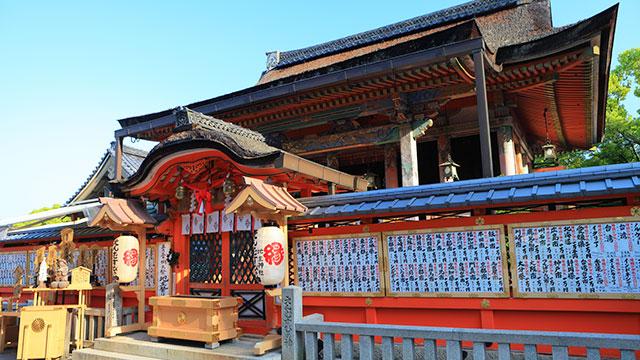 本殿(地主神社)