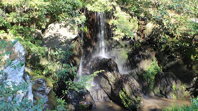 竜門滝(金閣寺)