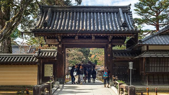 総門(金閣寺)