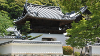 京都 興聖寺参道が宇治十二景に選ばれた見どころ豊富な寺