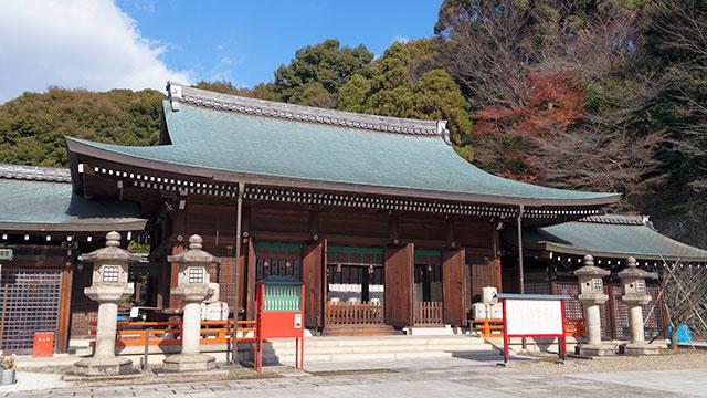 京都霊山護国神社(京都東山)