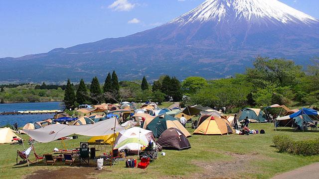 キャンプ場(田貫湖)