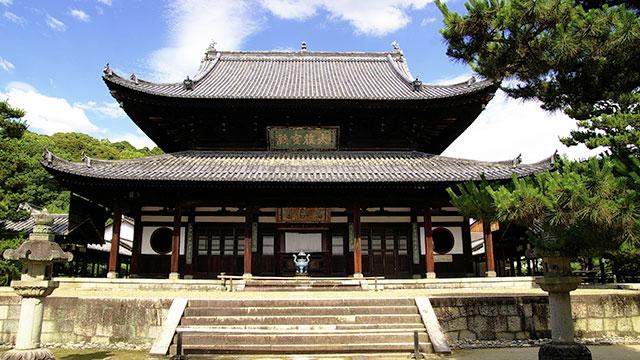 本殿(萬福寺)