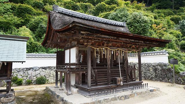 十八神社本殿(三室戸寺)