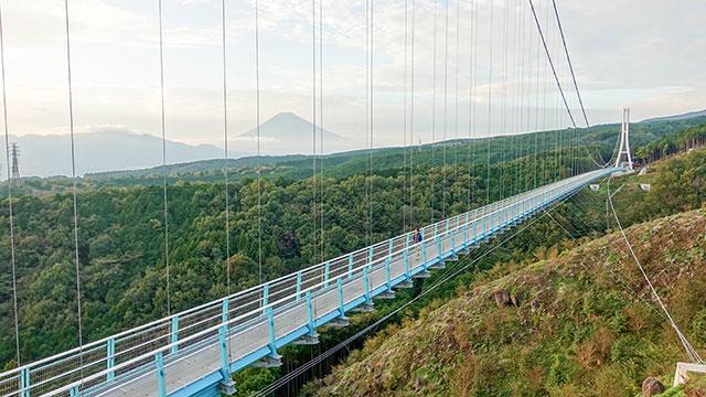 日本一長いつり橋(三島スカイウォーク)