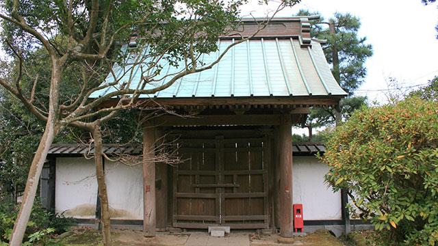 総門(妙法寺)