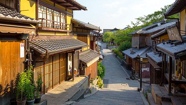 京都 産寧坂(三年坂)清水寺へと通じる見どころ豊富な坂道