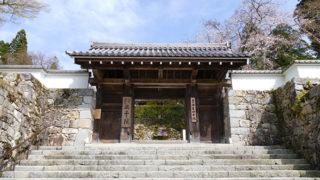 京都 三千院二つの苔庭が見事な天台宗三門跡