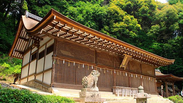 本殿(宇治上神社)