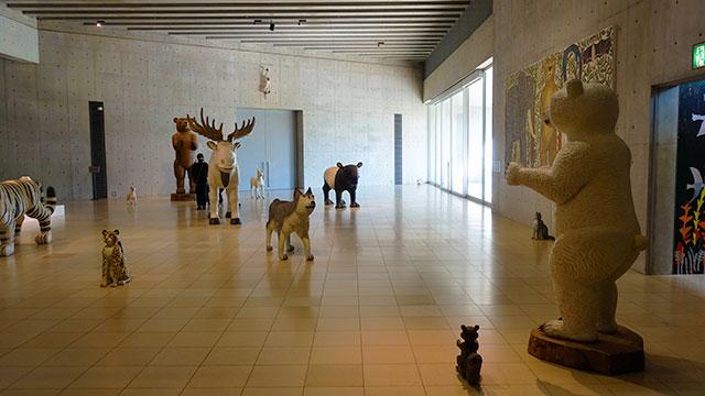ヴァンジ彫刻庭園美術館 企画展(クレマチスの丘)
