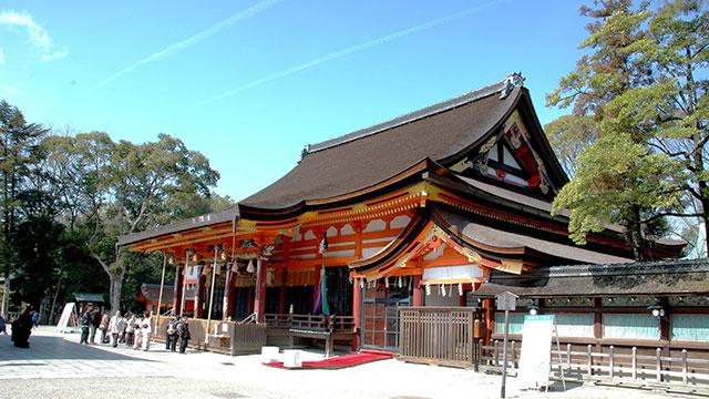 本殿(八坂神社)