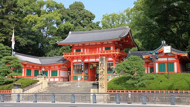 西楼門(八坂神社)