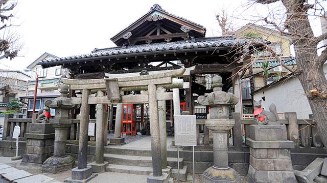 被官稲荷神社(浅草神社)