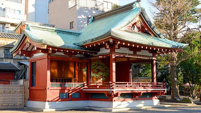 神楽殿(浅草神社)