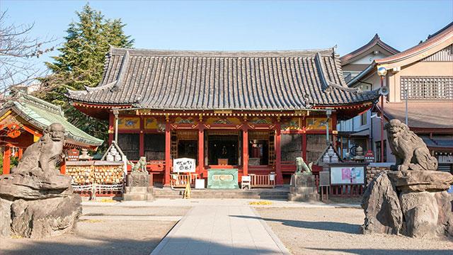 社殿(浅草神社)