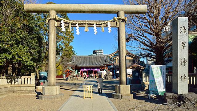 浅草神社(浅草)