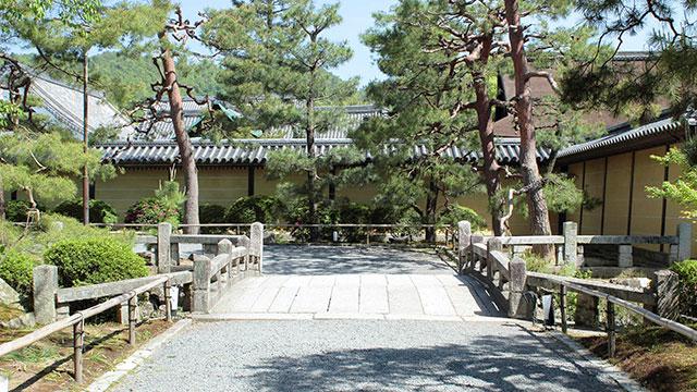 参道(大覚寺)