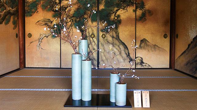 生け花(大覚寺)