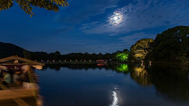 観月の夕べ(大覚寺)