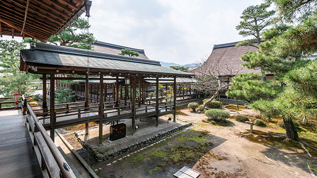 村雨の廊下(大覚寺)